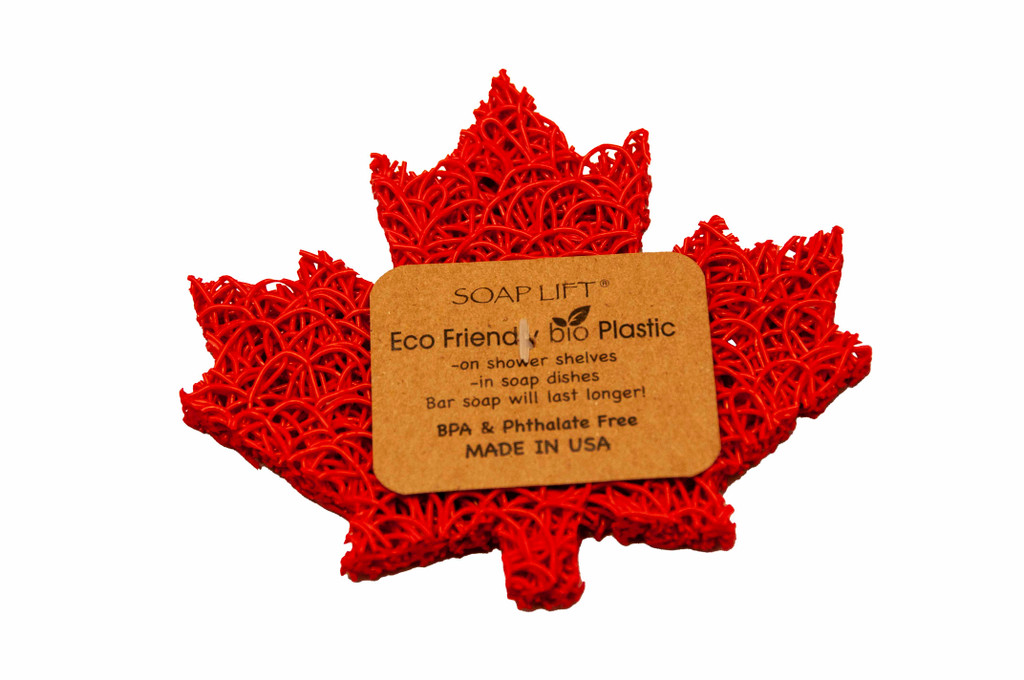 Red  Maple Leaf Soap Lift - High and Dry