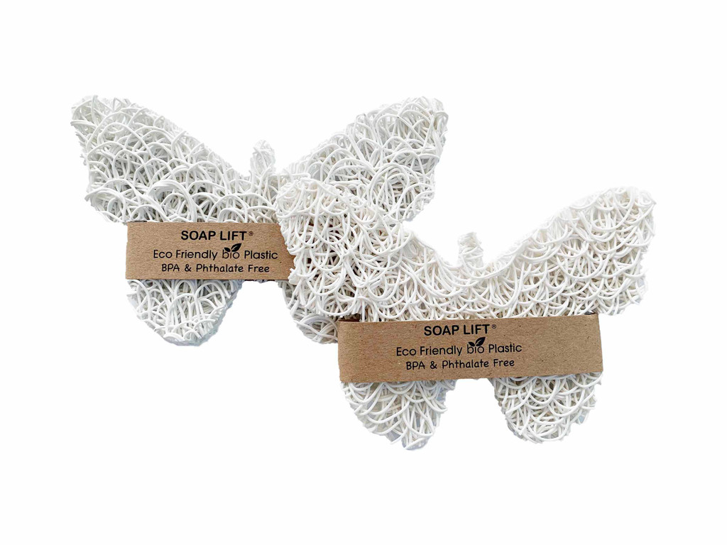 White Butterfly Soap Lift - High and Dry