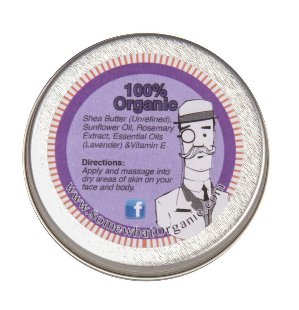 Lavender Organic Shea Butter Body Creme - 1.8 oz