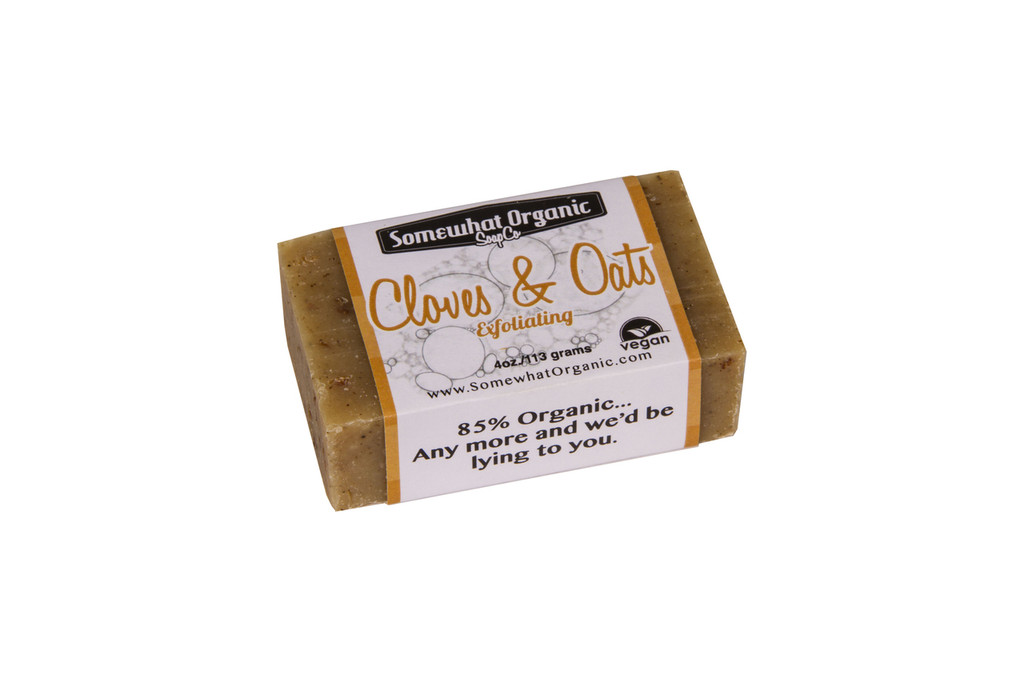 Cloves & Oats Organic Soap - 4 oz Bar