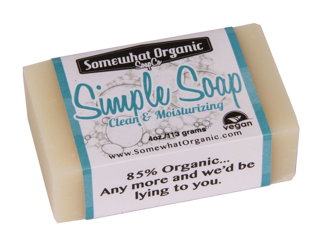 Simple Soap Organic Soap - 4 oz Bar