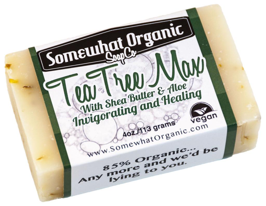 Tea Tree Max Organic Soap - 4 oz. Bar