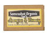 Lemongrass and Rosemary Organic Soap - 1 oz. Mini Bar
