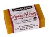 Rose Hips & Orange Organic Soap - 4 oz Bar