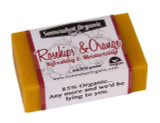 Rose Hips & Orange Organic Soap - 4 oz Bar