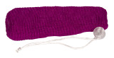 Nylon Mesh Soap Saver - Plum/Purple