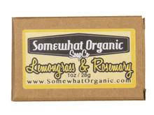 Lemongrass and Rosemary Organic Soap - 1 oz. Mini Bar