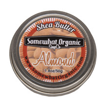 Almond All Natural Shea Butter Body Creme - 1.8 oz