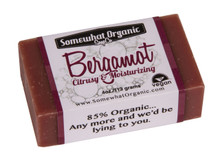 Bergamot Organic Soap - 4 oz. Bar
