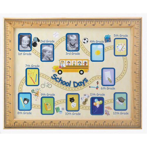 Accent Plus School Days Photo Frame
