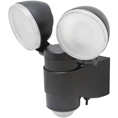 MAXSA INNOVATIONS Maxsa Innovations Battery-powered Motion-activated Dual-head Led Security Spotlight