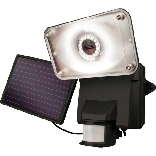 MAXSA INNOVATIONS Maxsa Innovations Motion-activated Solar Led Security Flood Light black