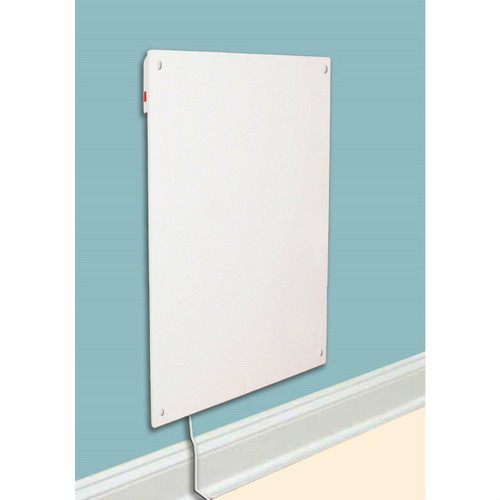 FastFurnishings Wall Mounted 600 Watt Energy Efficient Convection Electric Heater