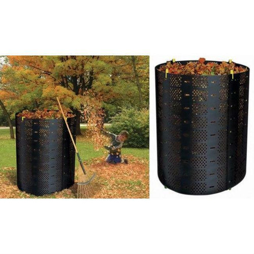 FastFurnishings 216-Gallon Compost Bin Composter for Home Composting