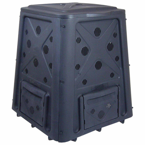 FastFurnishings 65 Gallon Heavy Duty Compost Bin - 8.7 Cu Ft Composter