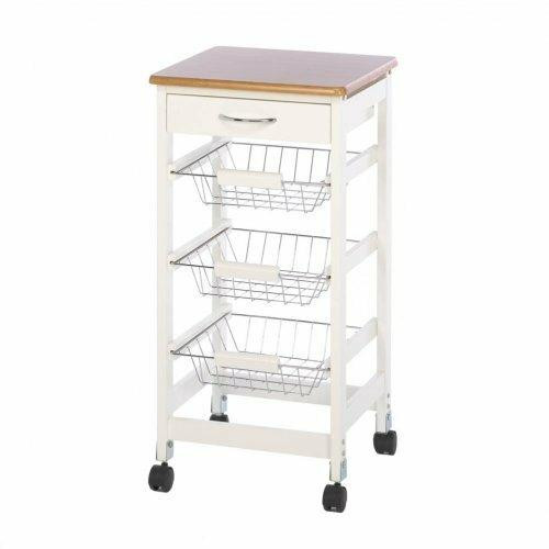 Accent Plus Kitchen Side Table Trolley