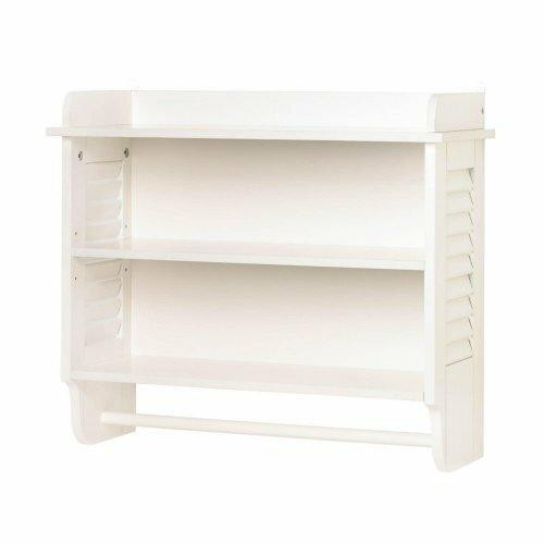 Accent Plus Nantucket Bathroom Wall Shelf