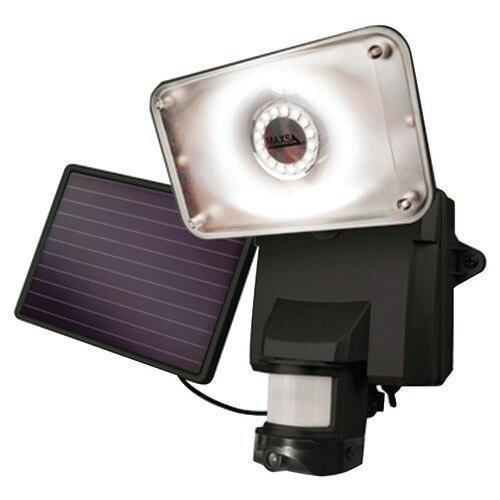 MAXSA Maxsa Innovations Solar-powered Security Video Camera Andamp; Floodlight