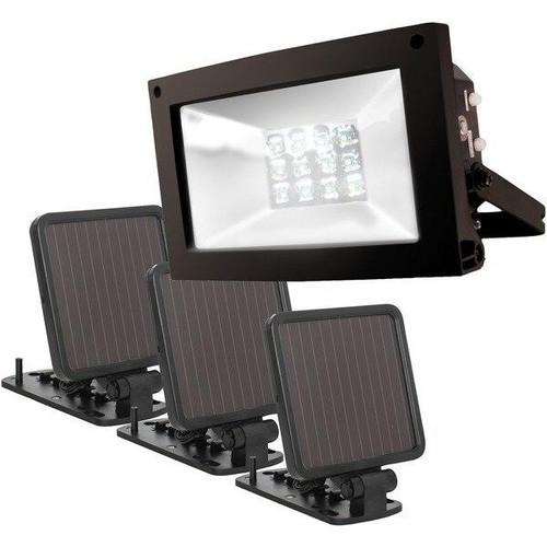 MAXSAR INNOVATIONS Maxsa Innovations Solar-powered Ultrabright Flood Light