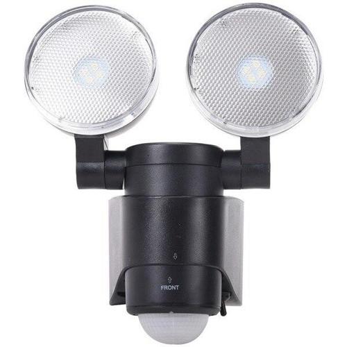 MAXSAR INNOVATIONS Maxsa Innovations Battery-powered Motion-activated Dual-head Led Security Spotlight - RA53512