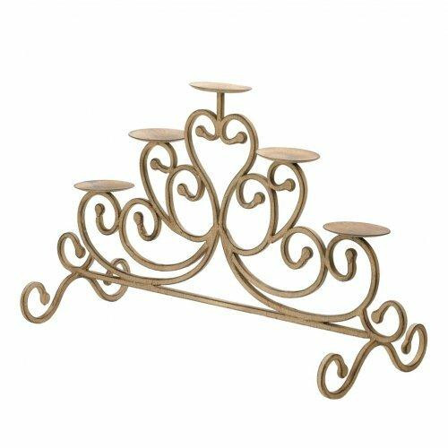 Accent Plus Cast Iron Candleabra
