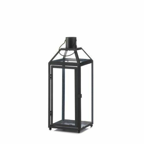 Accent Plus Midtown Medium Black Lantern