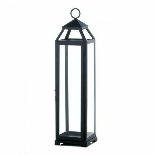 Accent Plus Extra Large Lean And Sleek Candle Lantern