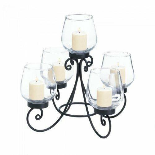 Accent Plus Enlightened Candle Centerpiece