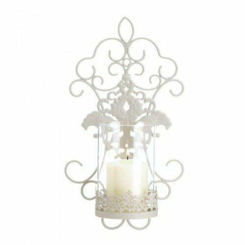 Accent Plus Romantic Lace Wall Sconce