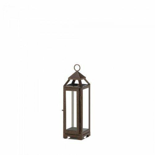 Accent Plus Small Copper Lantern