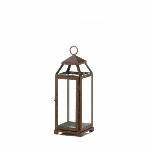 Accent Plus Medium Copper Lantern