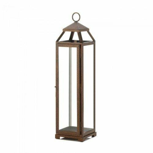 Accent Plus Extra Tall Copper Lantern