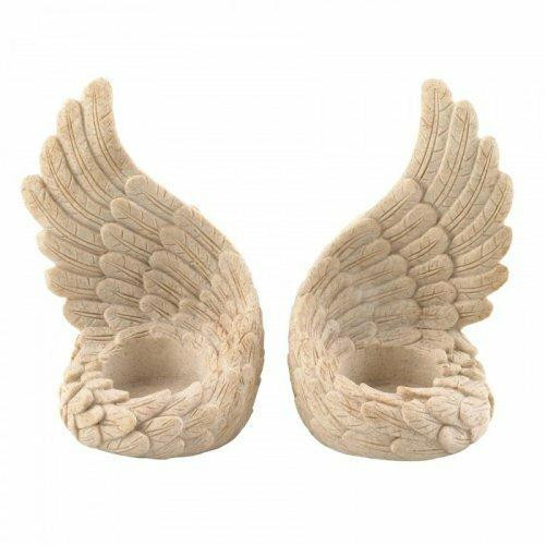 Accent Plus Angel Wings Tealight Set