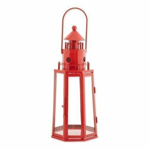 Gallery of Light Red Lighthouse Lantern