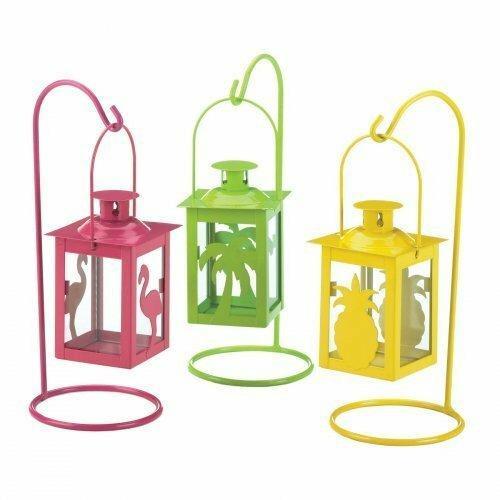 Gallery of Light Set Of 3 Tropical Mini Lanterns