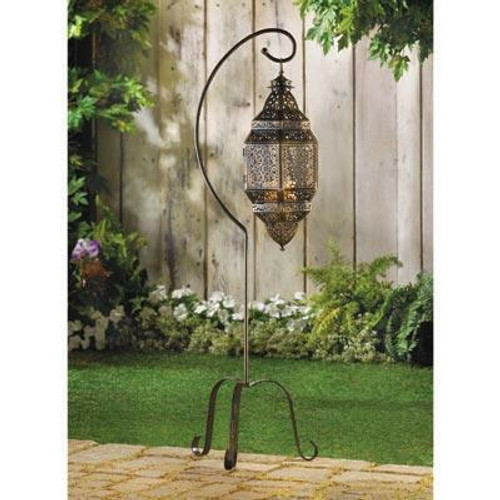 Accent Plus Moroccan Candle Lantern Stand