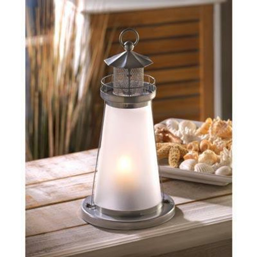 Accent Plus Lookout Lighthouse Candle Lamp