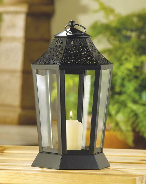 Accent Plus Midnight Garden Candle Lamp