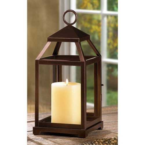 Gallery of Light Bronze Contemporary Lantern