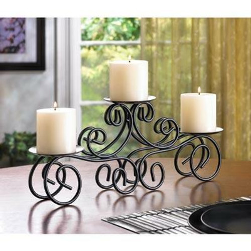 Accent Plus Tuscan Candle Centerpiece