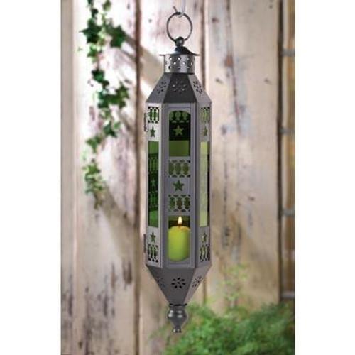 Accent Plus Emerald Serenity Hanging Lamp