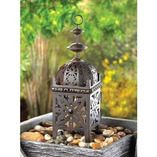 Accent Plus Metal Moroccan Style Lantern