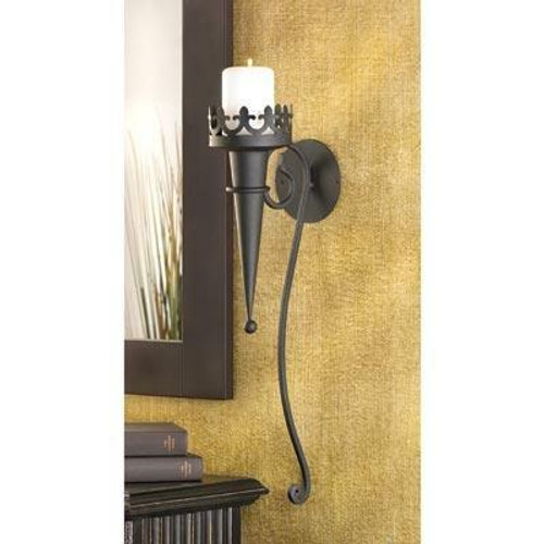 Accent Plus Gothic Candle Sconce