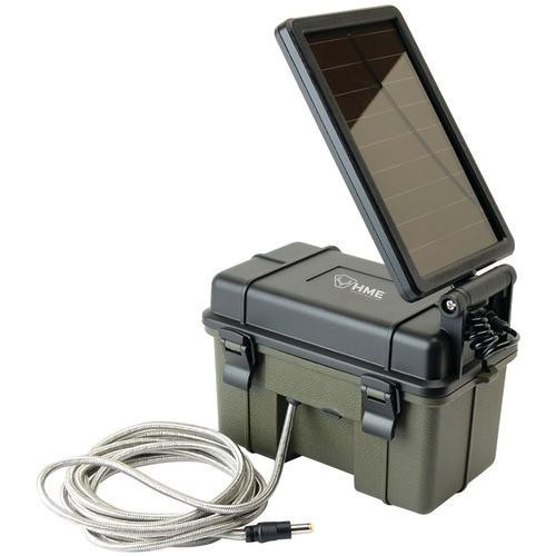 HMETM Hme 12-volt Battery Box With 2-watt Solar Panel