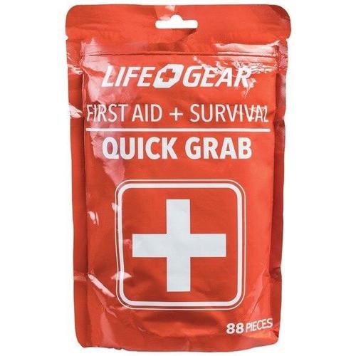 LIFEGEAR Lifegear 88-piece Quick Grab First Aid Andamp; Survival Kit