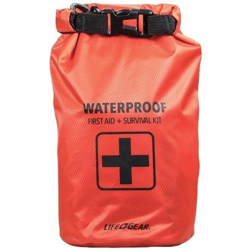 LIFEGEAR Lifegear 130-piece Dry Bag First Aid Andamp; Survival Kit
