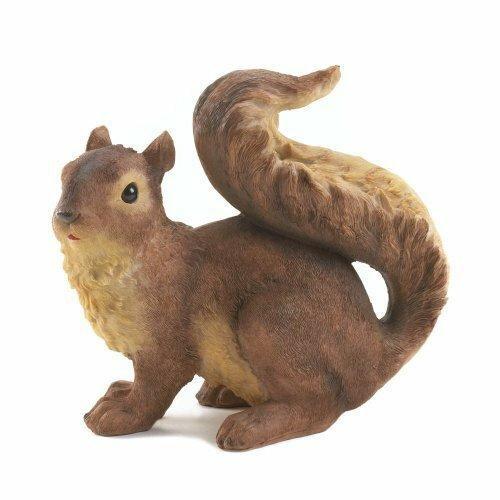 Accent Plus Curious Squirrel Garden Statue