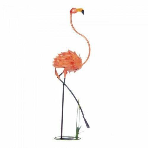 Accent Plus Standing Flamingo Garden Decor