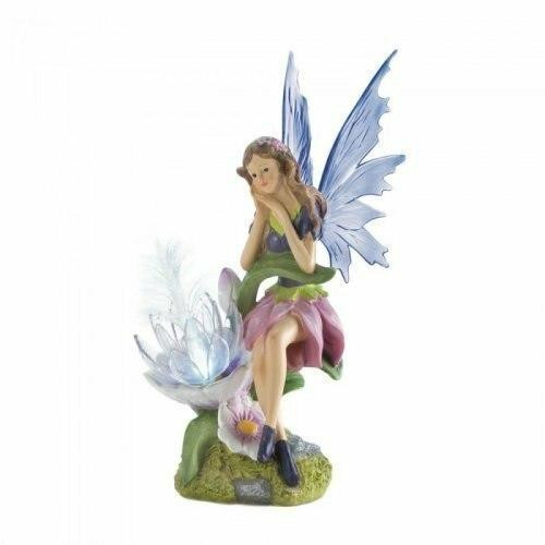 Accent Plus Solar Fairy With Flower