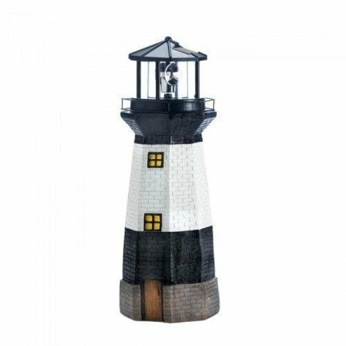 Accent Plus Spinning Solar Powered Lighthouse